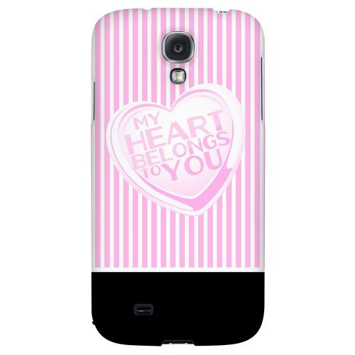 My Heart - Geeks Designer Line Heart Series Hard Back Case for Samsung Galaxy S4