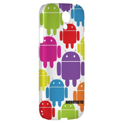Rainbow Robot Design - Geeks Designer Line Androitastic Series Hard Back Case for Samsung Galaxy S4