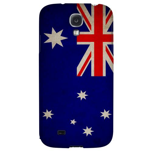 Grunge Australia - Geeks Designer Line Flag Series Hard Back Case for Samsung Galaxy S4