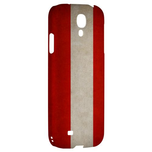Grunge Austria - Geeks Designer Line Flag Series Hard Back Case for Samsung Galaxy S4