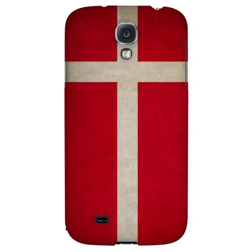 Grunge Denmark - Geeks Designer Line Flag Series Hard Back Case for Samsung Galaxy S4