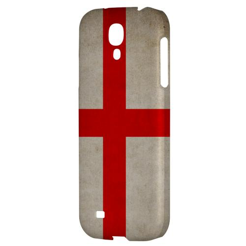 Grunge England - Geeks Designer Line Flag Series Hard Back Case for Samsung Galaxy S4
