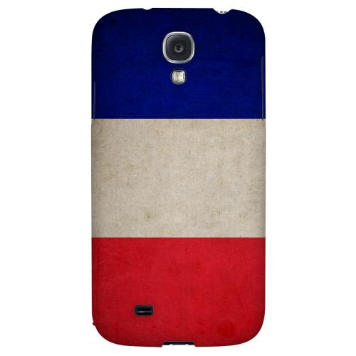 Grunge France - Geeks Designer Line Flag Series Hard Back Case for Samsung Galaxy S4