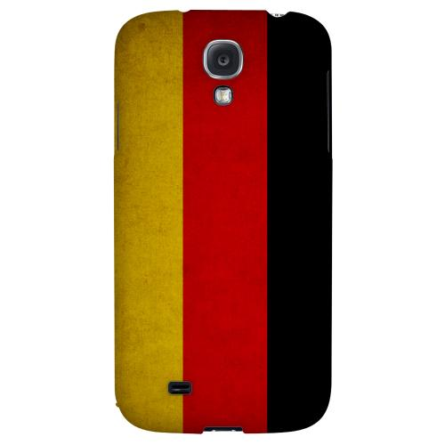 Grunge Germany - Geeks Designer Line Flag Series Hard Back Case for Samsung Galaxy S4