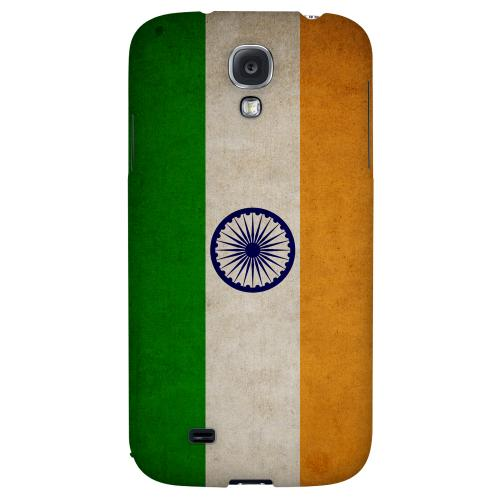 Grunge India - Geeks Designer Line Flag Series Hard Back Case for Samsung Galaxy S4