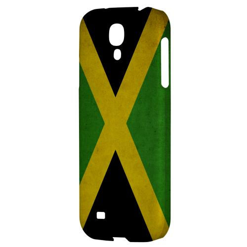 Grunge Jamaica - Geeks Designer Line Flag Series Hard Back Case for Samsung Galaxy S4