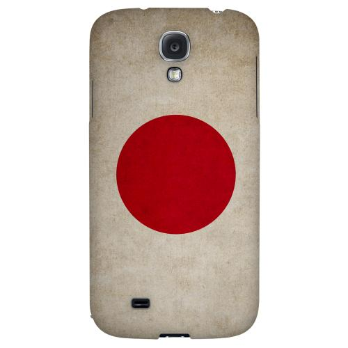 Grunge Japan - Geeks Designer Line Flag Series Hard Back Case for Samsung Galaxy S4