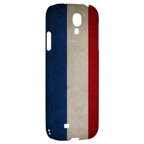 Grunge Netherlands - Geeks Designer Line Flag Series Hard Back Case for Samsung Galaxy S4