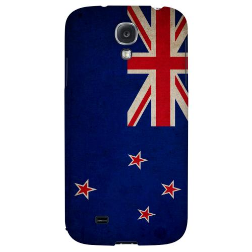 Grunge New Zealand - Geeks Designer Line Flag Series Hard Back Case for Samsung Galaxy S4