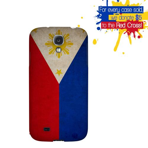 Grunge Philippines - Geeks Designer Line Flag Series Hard Back Case for Samsung Galaxy S4