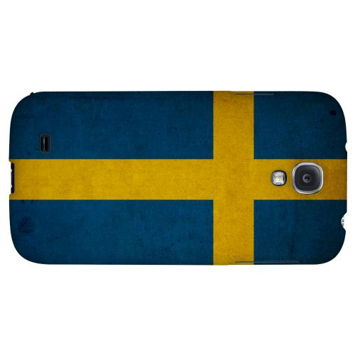 Grunge Sweden - Geeks Designer Line Flag Series Hard Back Case for Samsung Galaxy S4