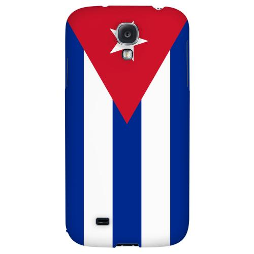 Cuba - Geeks Designer Line Flag Series Hard Back Case for Samsung Galaxy S4