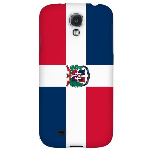 Dominican Republic - Geeks Designer Line Flag Series Hard Back Case for Samsung Galaxy S4