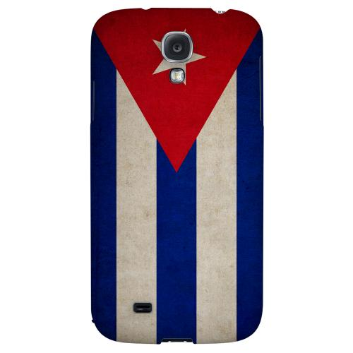 Grunge Cuba - Geeks Designer Line Flag Series Hard Back Case for Samsung Galaxy S4