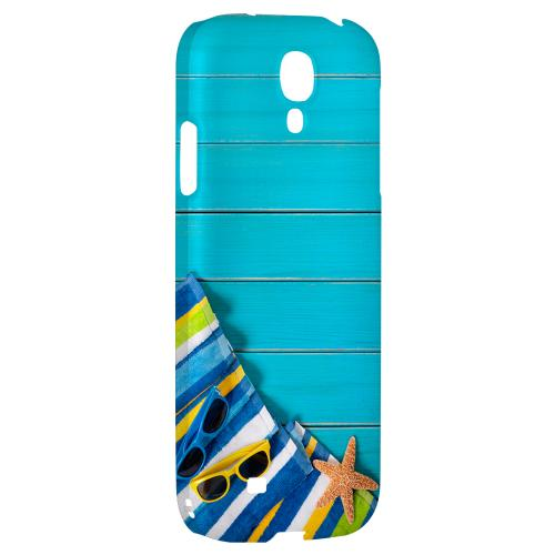 Decked Out - Geeks Designer Line Beach Series Hard Back Case for Samsung Galaxy S4