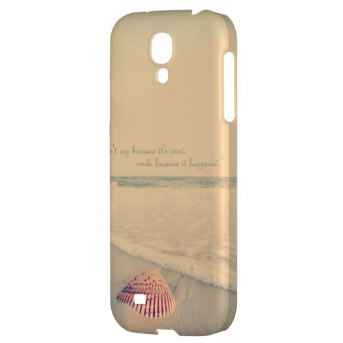 Don't Cry - Geeks Designer Line Beach Series Hard Back Case for Samsung Galaxy S4