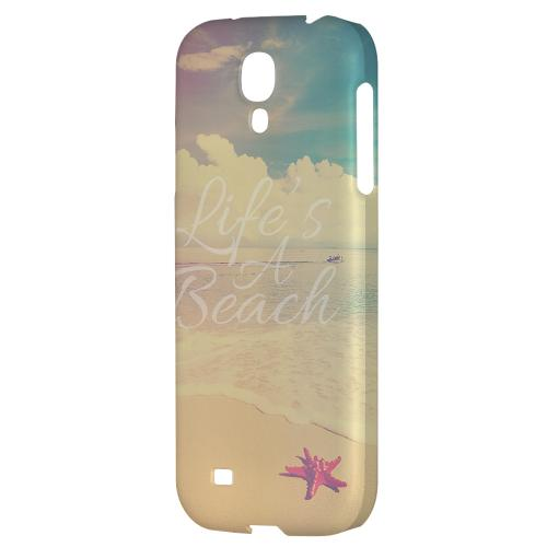 Life's A Beach - Geeks Designer Line Beach Series Hard Back Case for Samsung Galaxy S4