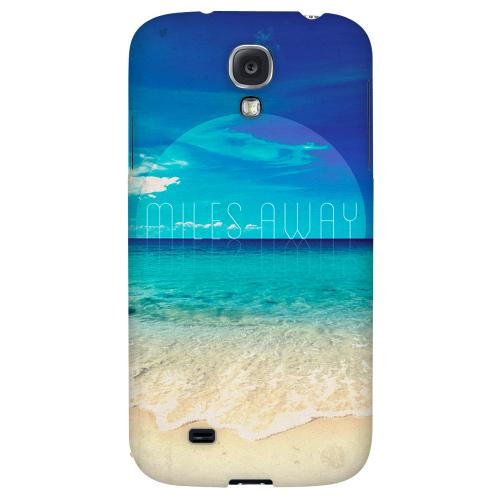 Miles Away - Geeks Designer Line Beach Series Hard Back Case for Samsung Galaxy S4
