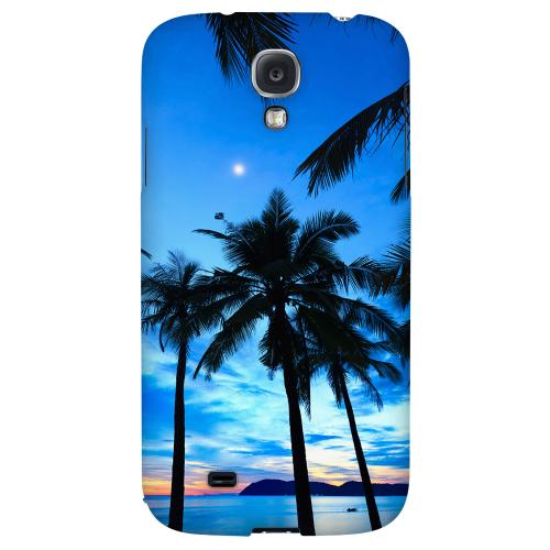 Tropical Sunset - Geeks Designer Line Beach Series Hard Back Case for Samsung Galaxy S4