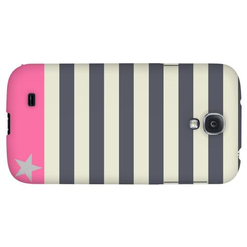 Bars & Stripes Forever - Geeks Designer Line Stripe Series Hard Back Case for Samsung Galaxy S4