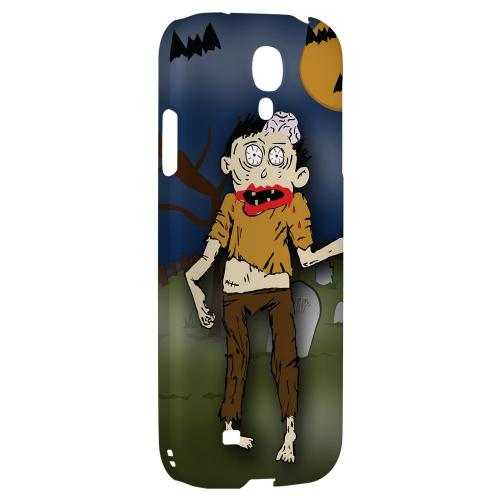 Zombie in Graveyard - Geeks Designer Line Monster Mash Series Hard Back Case for Samsung Galaxy S4