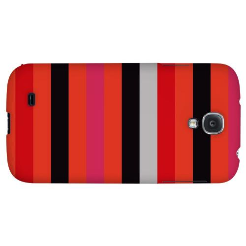 Muted Spade Stripes - Geeks Designer Line Stripe Series Hard Back Case for Samsung Galaxy S4