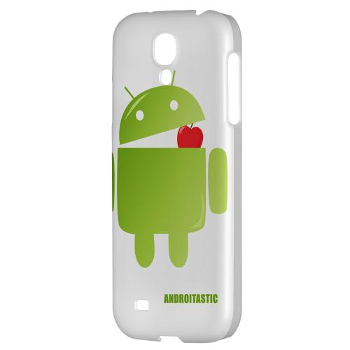 Robot Versus Apple - Geeks Designer Line Androitastic Series Hard Back Case for Samsung Galaxy S4