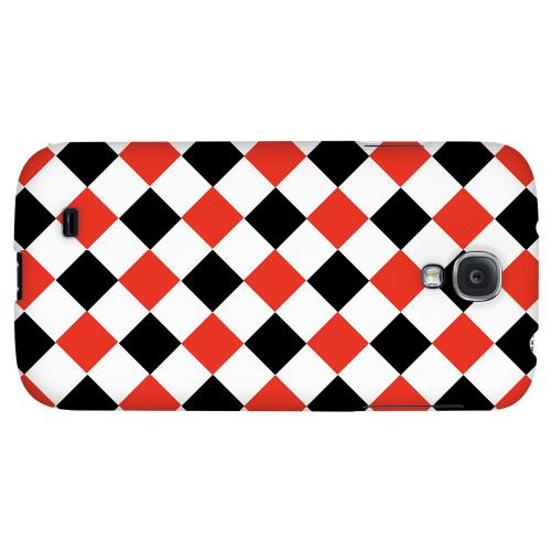 Charlatan - Geeks Designer Line Checker Series Hard Back Case for Samsung Galaxy S4