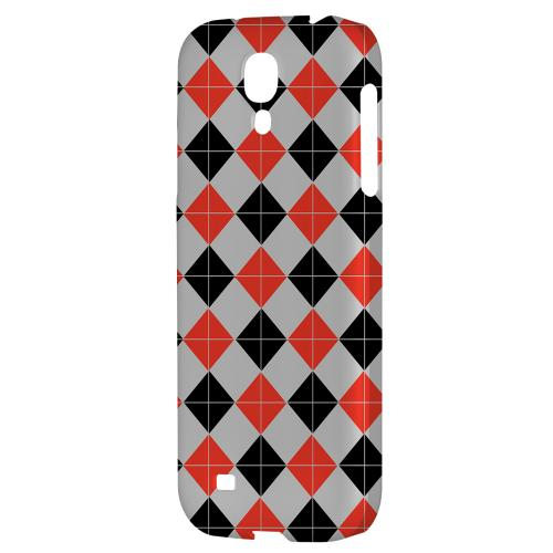 Charlatan Tiles - Geeks Designer Line Checker Series Hard Back Case for Samsung Galaxy S4