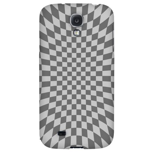 Distortion - Geeks Designer Line Checker Series Hard Back Case for Samsung Galaxy S4