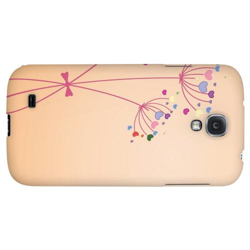 Dandelion Hearts - Geeks Designer Line Floral Series Hard Back Case for Samsung Galaxy S4