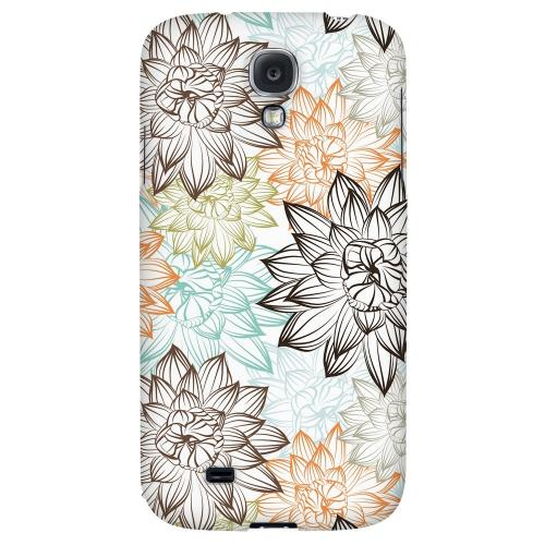 Floral Explosion - Geeks Designer Line Floral Series Hard Back Case for Samsung Galaxy S4