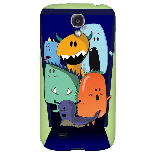ZORGBLATS on Purple - Geeks Designer Line Monster Mash Series Hard Back Case for Samsung Galaxy S4