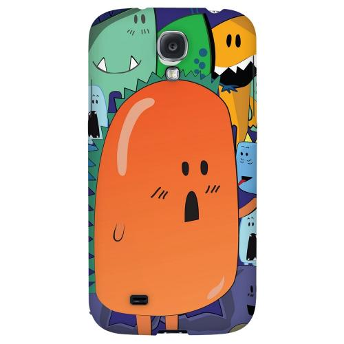 ZORGBLATS Orange Moob Close-Up - Geeks Designer Line Monster Mash Series Hard Back Case for Samsung Galaxy S4