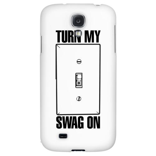 Light Switch - Geeks Designer Line Swag Series Hard Back Case for Samsung Galaxy S4
