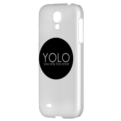 YOLO Circle - Geeks Designer Line YOLO Series Hard Back Case for Samsung Galaxy S4