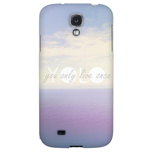 Filled YOLO - Geeks Designer Line YOLO Series Hard Back Case for Samsung Galaxy S4