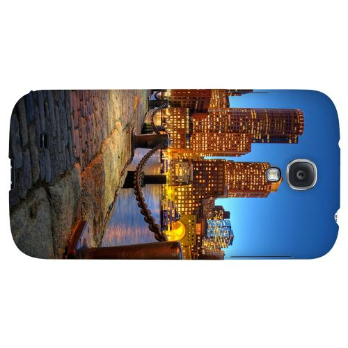 Boston - Geeks Designer Line City Series Hard Back Case for Samsung Galaxy S4