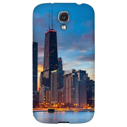 Chicago - Geeks Designer Line City Series Hard Back Case for Samsung Galaxy S4