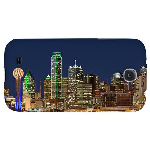 Dallas - Geeks Designer Line City Series Hard Back Case for Samsung Galaxy S4