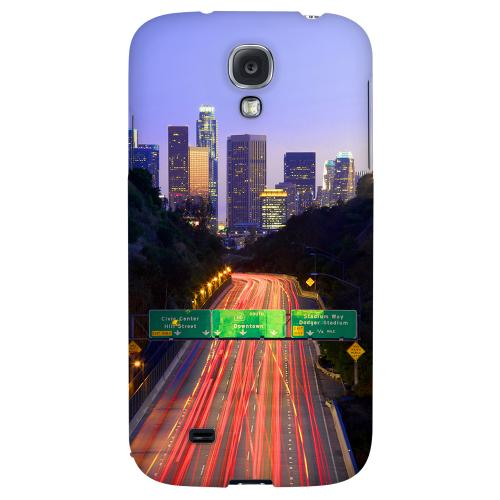 Los Angeles - Geeks Designer Line City Series Hard Back Case for Samsung Galaxy S4