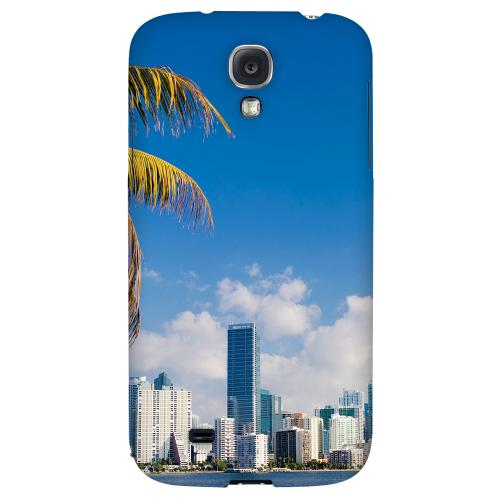 Miami - Geeks Designer Line City Series Hard Back Case for Samsung Galaxy S4