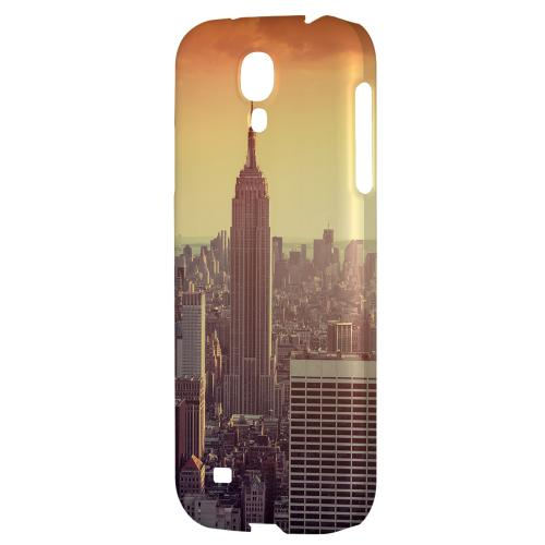 New York - Geeks Designer Line City Series Hard Back Case for Samsung Galaxy S4