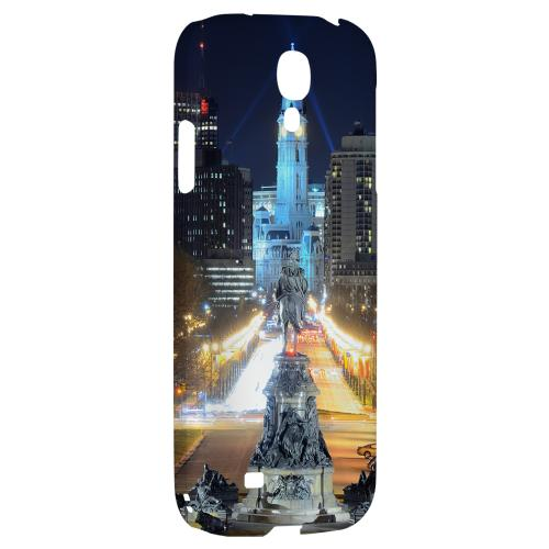 Philadelphia - Geeks Designer Line City Series Hard Back Case for Samsung Galaxy S4