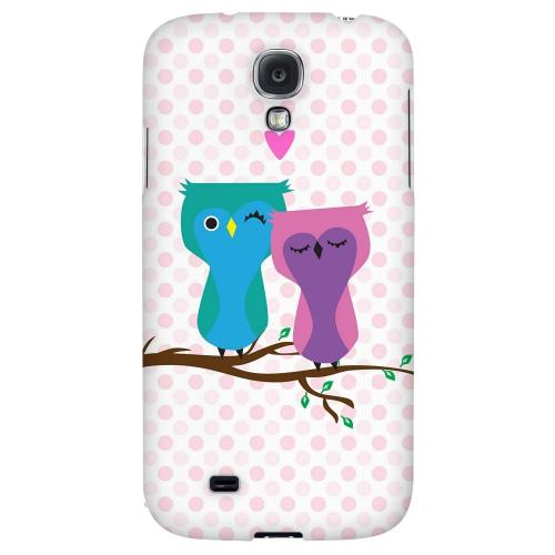 Owl Love You Forever - Geeks Designer Line Owl Series Hard Back Case for Samsung Galaxy S4