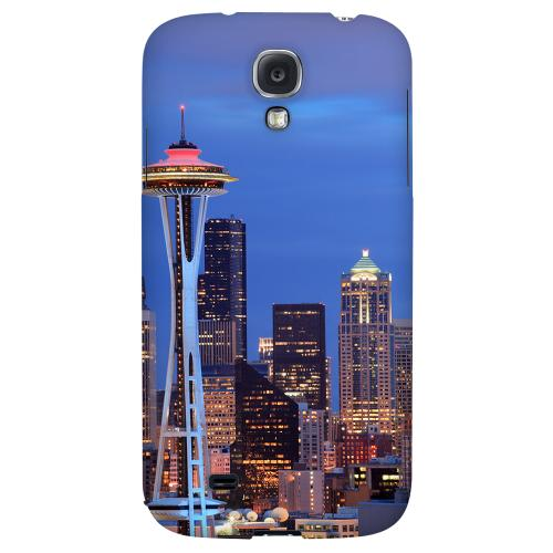 Seattle - Geeks Designer Line City Series Hard Back Case for Samsung Galaxy S4