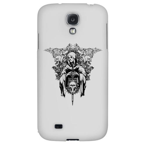 Inkfection on Gray - Geeks Designer Line Tattoo Series Hard Back Case for Samsung Galaxy S4