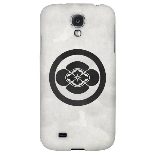 Boke Kamon on Paper - Geeks Designer Line Tattoo Series Hard Back Case for Samsung Galaxy S4