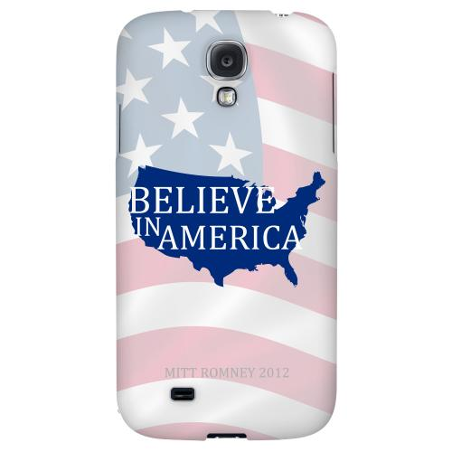 Believe in America - Geeks Designer Line Election 2012 Series Hard Back Case for Samsung Galaxy S4