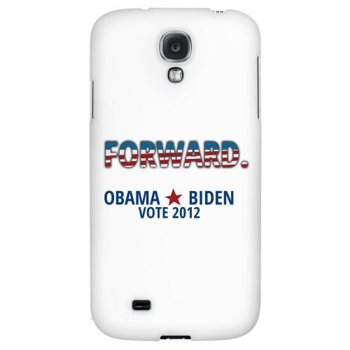 Obama. Biden. Forward. - Geeks Designer Line Election 2012 Series Hard Back Case for Samsung Galaxy S4